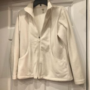 Couture Zip up jacket off white size S